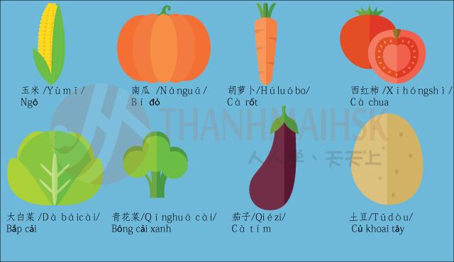 Hình ảnh Học tiếng Trung qua hình ảnh sinh động dễ nhớ 6