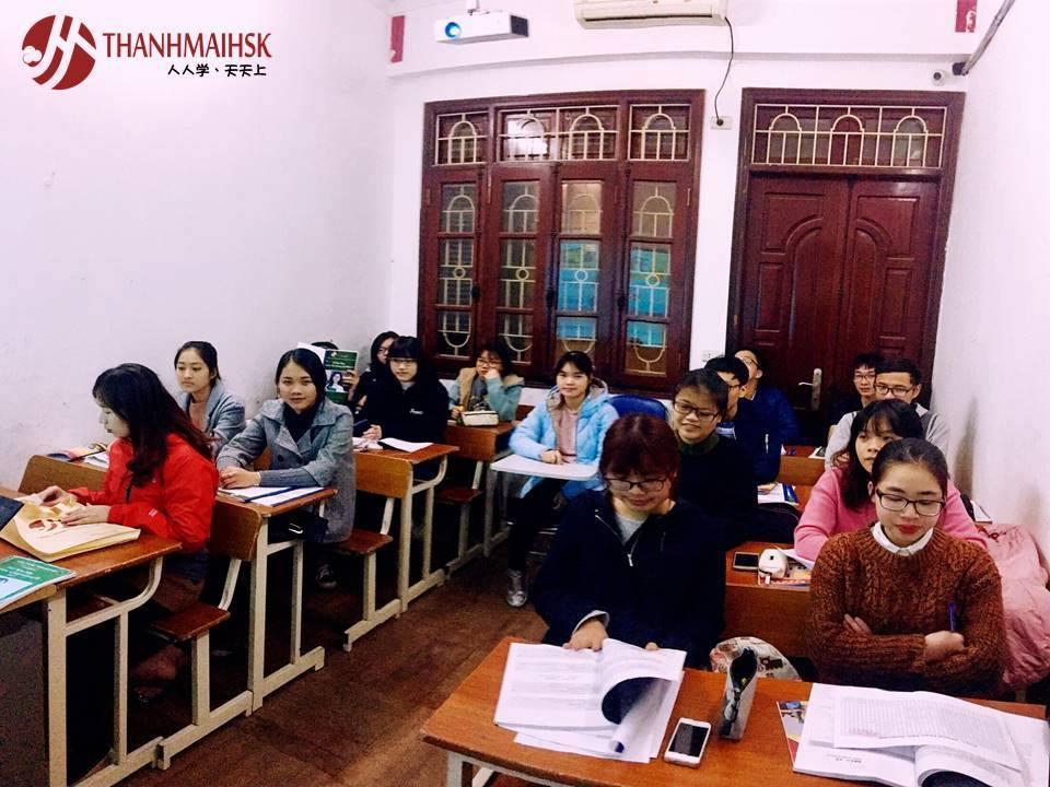 Hình ảnh Khóa học tiếng trung giao tiếp 2 cùng người bản ngữ tại THANHMAIHSK 1