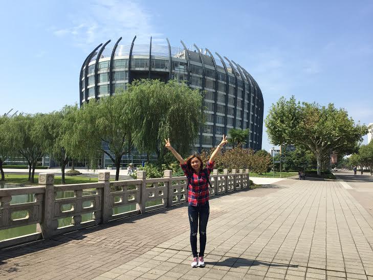 Phạm Ngọc Anh - ĐH Đông Hoa Thượng Hải