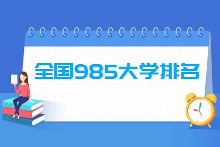 Dự án 985 và danh sách các trường 985 của Trung Quốc