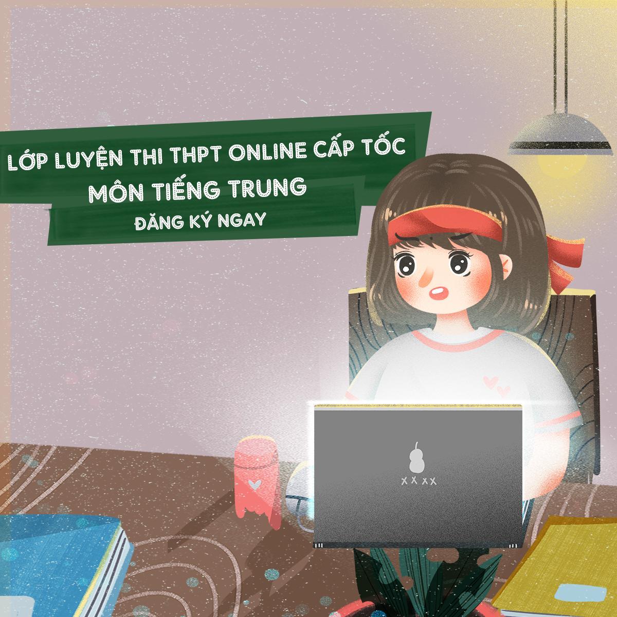 Lớp ôn thi đại học môn tiếng Trung tại THANHMAIHSK